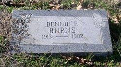 Bennie F Burns
