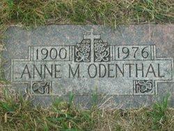 Annie M Odenthal