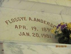 Floysse A. <i>Thompson</i> Anderson