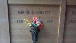Minnie E. <i>Owen</i> Bennett