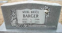 Myrl Brice Barger