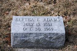 Bertha Emma <i>Bollinger</i> Adams