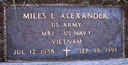 Miles Lee Alexander