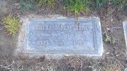 Bertha Agnes <i>Thatcher</i> Byrne