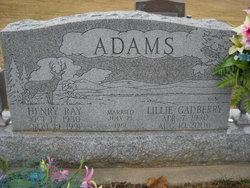 Lillie <i>Gadberry</i> Adams
