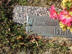 McDonald L. Berry