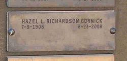 Hazel L. <i>Richardson</i> Cornick