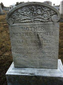 Hettie B <i>Oberholtzer</i> Bechtel