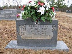 Barbara Ann <i>Parker</i> Ard