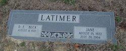 Ruby Jane <i>Taylor</i> Latimer