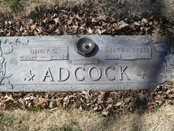 Bertha <i>Sykes</i> Adcock