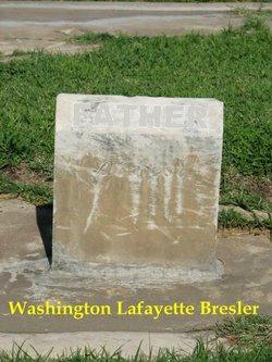 Pvt Washington Lafayette Bresler