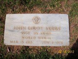 John LeRoy Akers