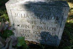 Julia Sophia <i>Patrick</i> Barlow