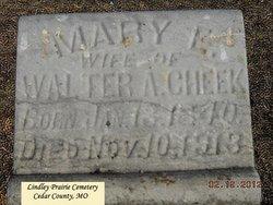 Mary E. <i>Gilbert</i> Cheek