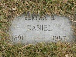 Bertha B Daniel