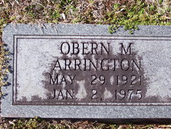 Obern Matthew Arrington