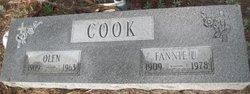 FANNIE <i>UNDERWOOD</i> COOK