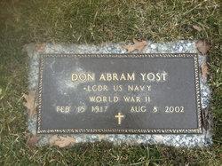 Don Abram Yost