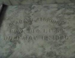 Clara J. Aldridge