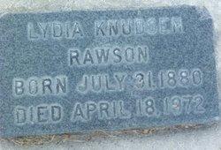 Lydia Christine <i>Knudsen</i> Rawson
