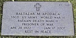 Sgt Baltazar Marino Wally Apodaca