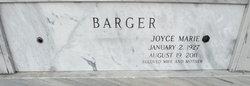Joyce Marie <i>Cook</i> Barger