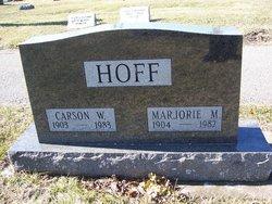 Marjorie M. <i>Gurthet</i> Hoff