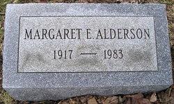 Margaret E. <i>Lunn</i> Alderson
