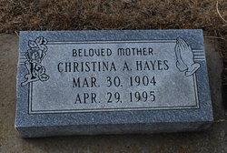 Christina <i>Olson</i> Hayes