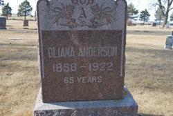 Oliana <i>Johannsdatter</i> Anderson