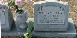 Marilyn E. Cox
