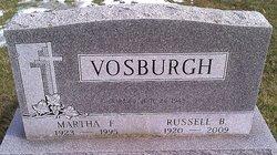 Martha F. <i>Fitch</i> Vosburgh