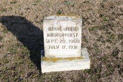 Addie Jane Broadhurst