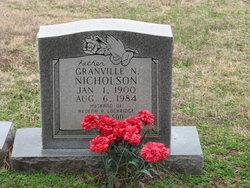 Granville Nelson Nicholson, Sr