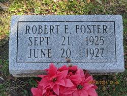 Robert E Foster