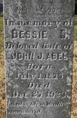 Bessie S. <i>Pagett</i> Abel