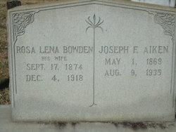 Joseph F Aiken