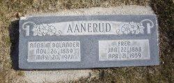 Anna M. <i>Bolander</i> Aanerud