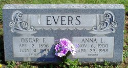 Anna Louise <i>Mussler</i> Evers