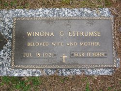 Margaret Winona <i>Gresham</i> Estrumse