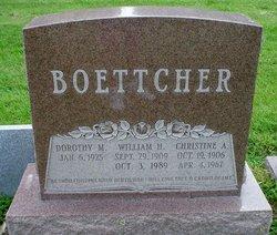 Christine Anna <i>Mussler</i> Boettcher