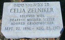 Celia <i>Taxel</i> Zelniker