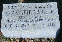 Charlotte <i>Taxel</i> Zelniker
