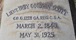 Lieut Irby Goodwin Scott