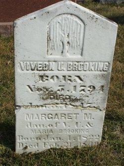 Margaret M Brooking