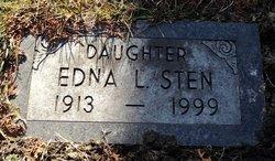 Edna L. <i>Lindenberg</i> Sten