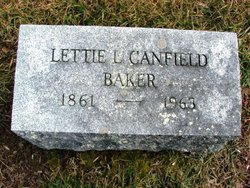Lettie L <i>Canfield</i> Baker