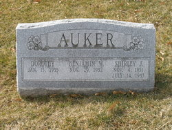 Shirley J <i>Simpson</i> Auker