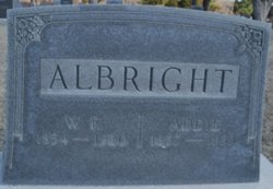 Adelaide Susan Addie <i>Wentz</i> Albright